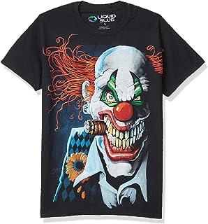 Liquid Blue Men's Plus-Size Joker Clown T-Shirt
