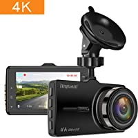 TOGUARD 4K Ultra HD 3 LCD Car Dash Camera