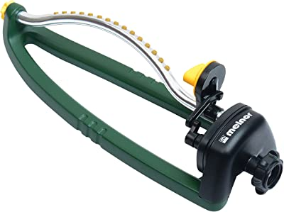 Melnor 20261 Oscillating Sprinkler, Waters up to 3.000 sq. ft, 3,000, Basic