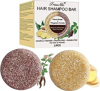 Shampoo Bar Champú Sólido Jabones de Champús Jabón Para el Cabello Ayuda Contra la Caída del Cabello y Promueve el Cre...