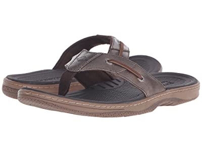 Sperry Baitfish Thong (Brown) Men