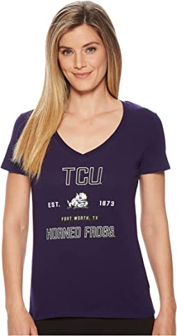 Champion College - TCU Horned Frogs University V-Neck Tee