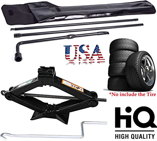2021 Bowoshen for Ford Super Duty 2003-2007 F250 350 550 450 Spare new arrival Tire Repair Tool Lug Wrench Carbon Steel + discount 2 T on Scissor Jack 90MM to 360MM with Effortless Handle outlet online sale