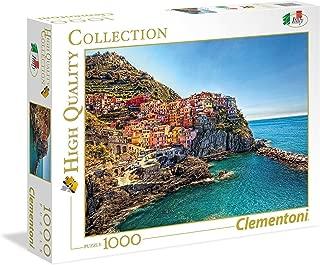 Clementoni Adult Manarola 1000-Pieces Puzzle, Multi-Colour