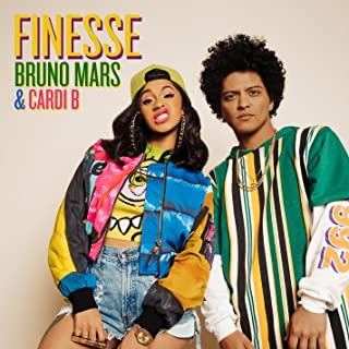 Best bruno mars finesse remix feat cardi b mp3 Reviews