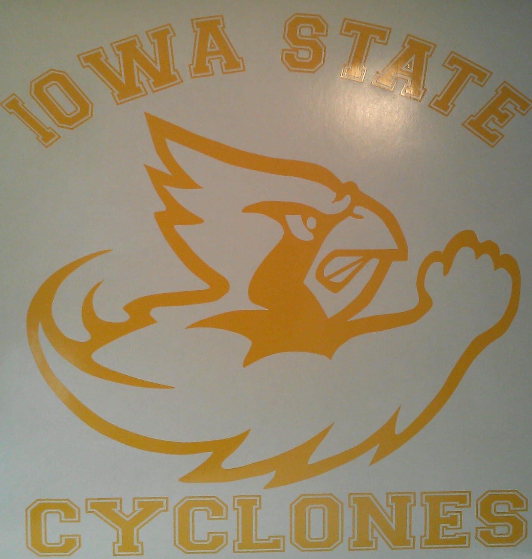 Iowa State Cyclones Yellow 2 New Free Shipping Louisville-Jefferson County Mall Decals Cornhole -