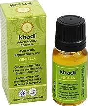 Khadi - Ayurvedic Regenerating Centella Oil - 0.35 fl.oz - for Revitalised & Toned Skin - Prevents stretchmarks