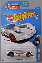 2016 Hot Wheels Kmart Exclusive Limited Edition Hw Race Team 1/10 - Corvette C7.R - White