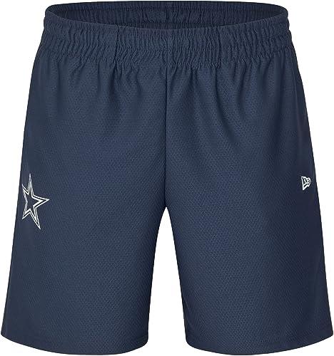 nouveau Era dryera courte dalcow Pantalon Court Ligne Dallas Cowgarçons, Mixte Adulte, Bleu (OSB)