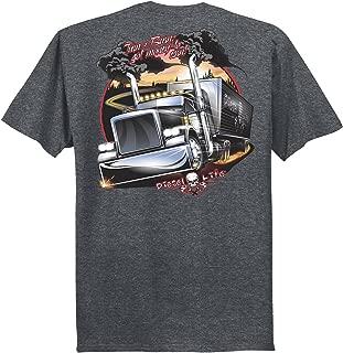 Turn & Burn S/S T-Shirt - Black Heather