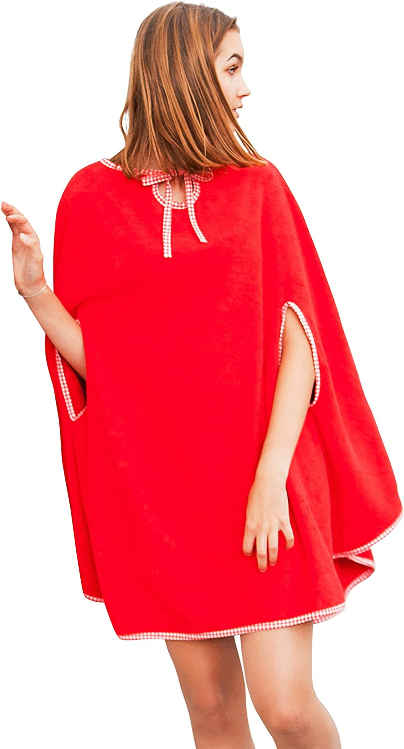 CAPE TO GO® GO® GO® Damen Frauen Frottee