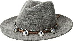 KNH3620 Western Trim Knit Fedora