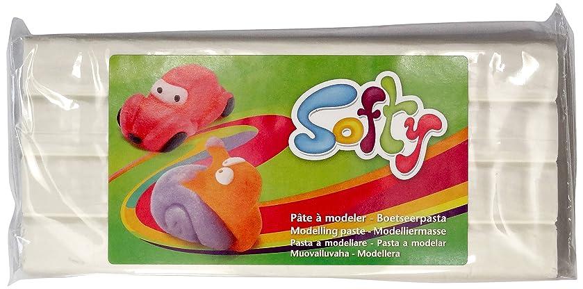 DARWI 1-Piece Clay SOFTY 500 GRS. WHITE, WHITE