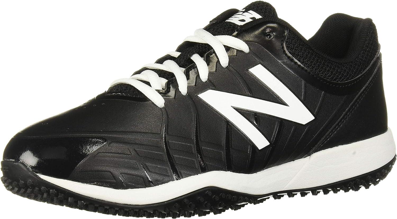 New Balance Unisex-Child 4040 V5 Turf Baseball Shoe
