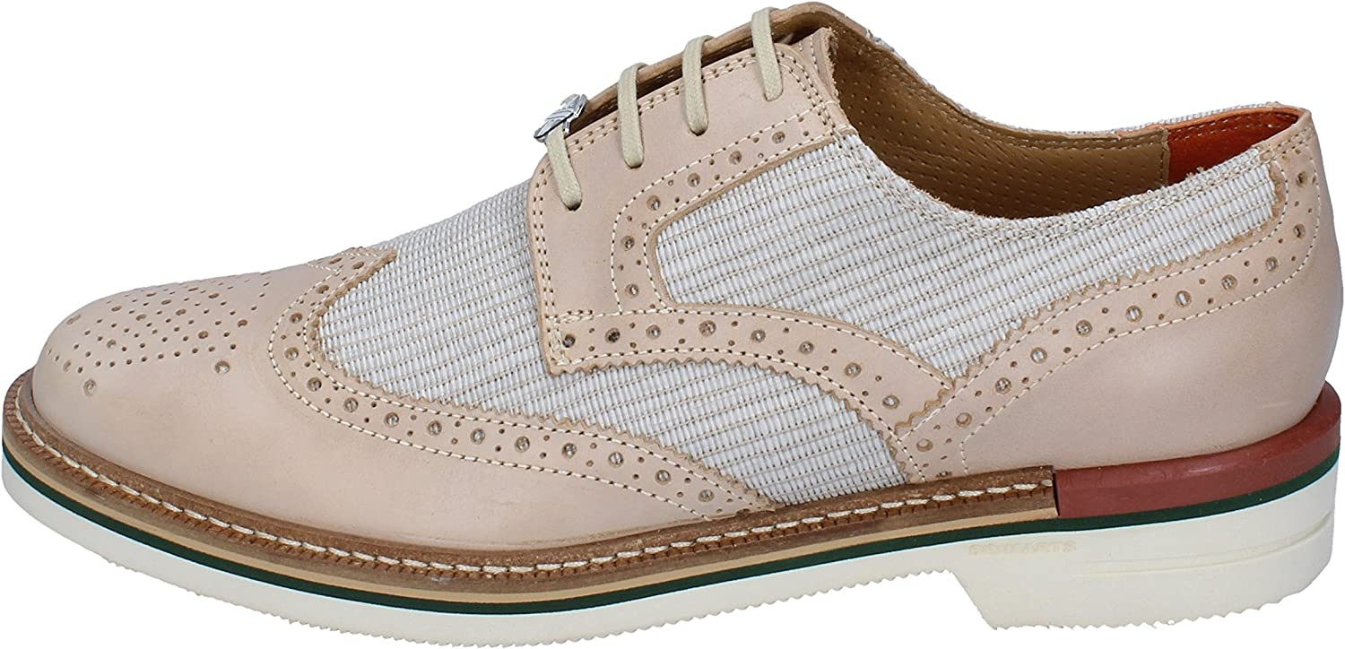BRIMARTS Oxfords-shoes Mens Leather Beige