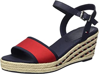 Tommy Hilfiger SPORTY TEXTILE MID WEDGE womens Women Fashion Sandals