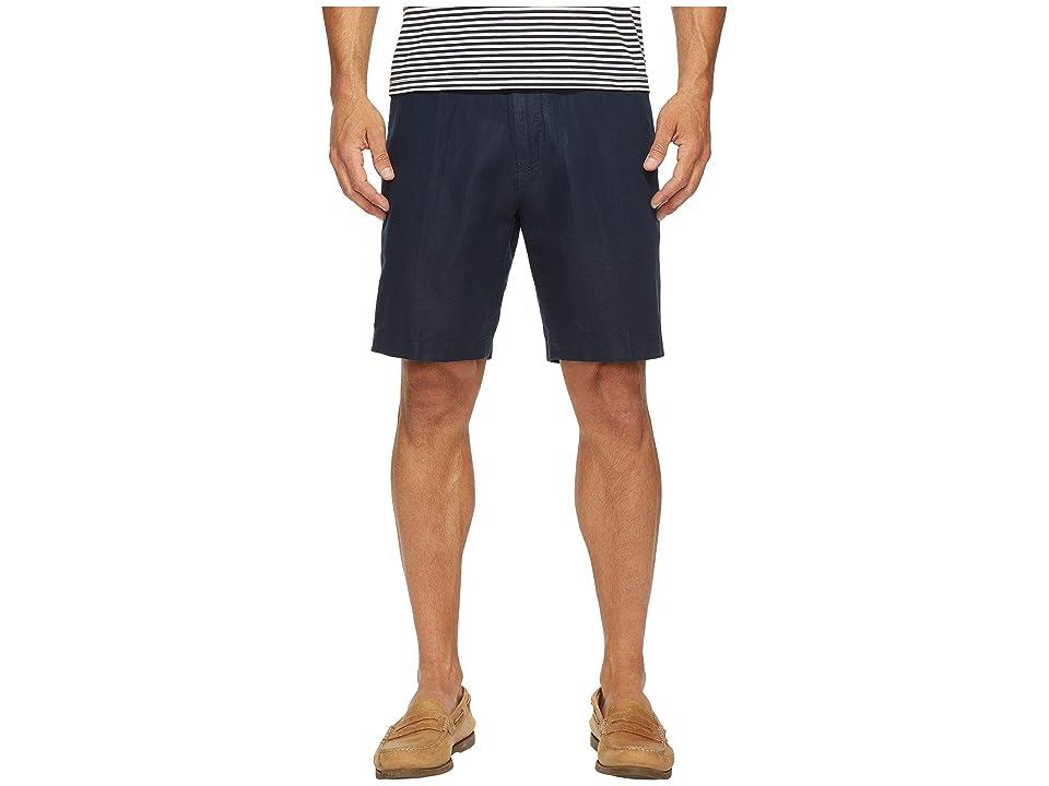 Nautica Linen Cotton Shorts (Navy) Men