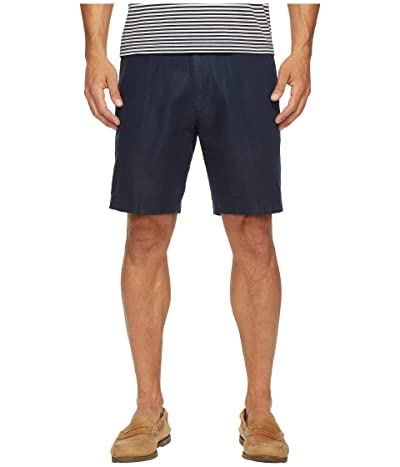 Nautica Linen Cotton Shorts (Navy) Men