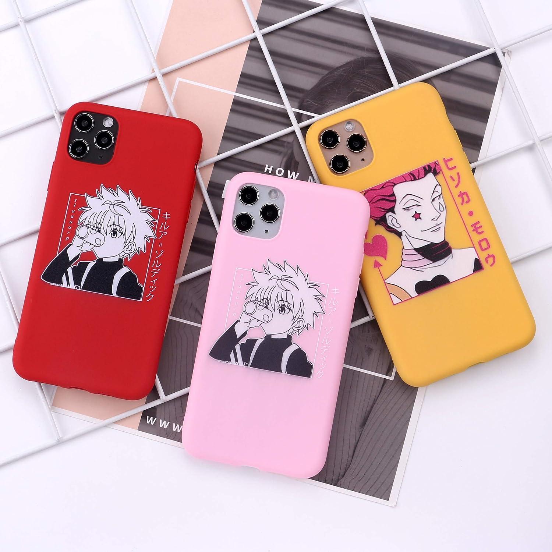 5, iPhone X//Xs The Case for iPhone X//Xs Japan Anime Hunter X Hunter Killua Zoldyck Soft Silicone