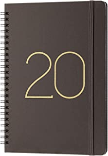 2020 Planner - Weekly & Monthly Planner with Tabs, January 2020 - December 2020, Flexible Cover with Twin-Wire Binding, Banded, 6.45