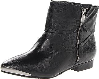 حذاء South Coast للنساء من Chinese Laundry مصنوع من الجلد الأسود، 7. 5 M US