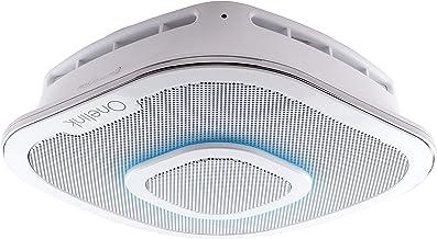 First Alert Onelink Safe & Sound - Smart Hardwired Smoke + Carbon Monoxide Alarm and Premium Home Speaker with Amazon Alex...