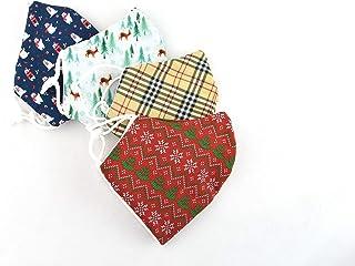 mascarilla de tela reutilizable para niños 4 unidades, mascarillas infantiles personalizadas