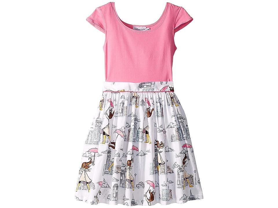 fiveloaves twofish Maddy London Girl Dress (Toddler/Little Kids/Big Kids) (Pink) Girl
