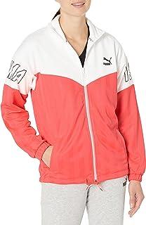 PUMA womens luXTG Jacquard Jacket Jacket