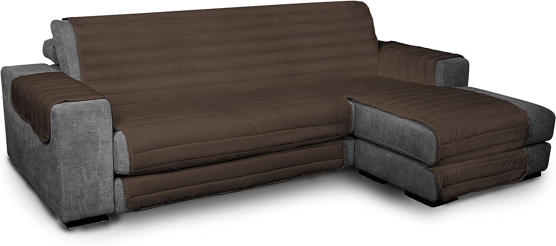 Datex Funda cubre sofà Elegant marrón 290cm