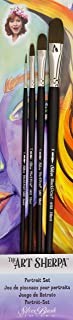 Silver Brush AS-4104 THE ART SHERPA Portrait Set Beginning Acrylic Paintbrush