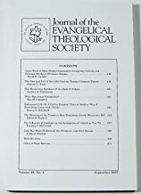 Journal of the Evangelical Theological Society (Volume 48 Number 3, September 2005)