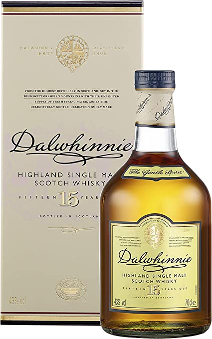 Dalwhinnie 15 Years Old Single Malt Whisky 700ml