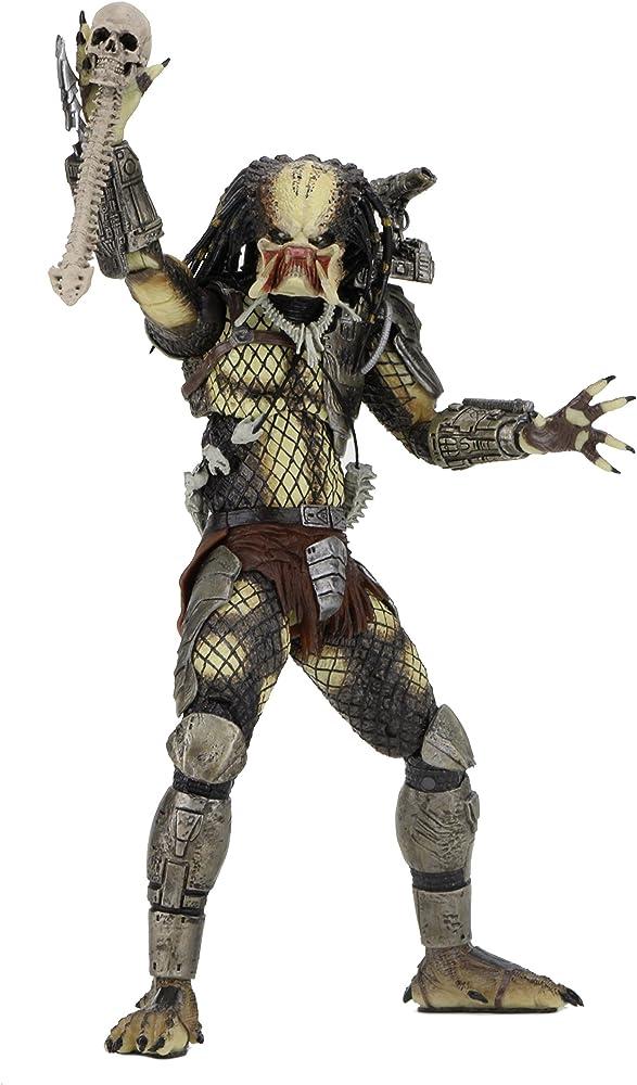 Neca predator , statua unmasked jungle hunter predator 30th anniversary ,  20,32 cm 51557