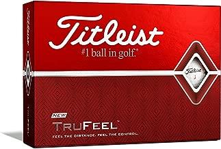 Titleist(タイトリスト)日本正規品 TRUFEEL(トゥルーフィール) ゴルフボール 2019モデル 1ダース(12個入り)