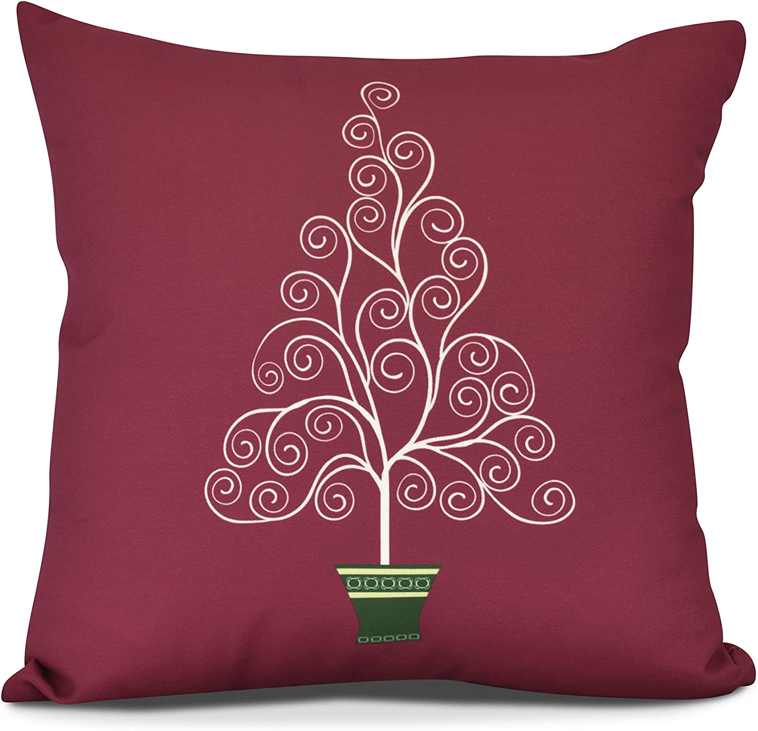 E by design Pillow, O5PHG961RE6-18, Red, 18