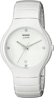 Women's R27695712 True Jubile Analog Display Swiss Quartz White Watch