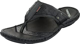 FORESTHILL Men's Leather Athletic & Outdoor Sandals and floaters