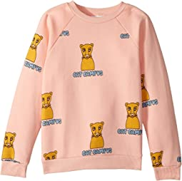 Cat Campus Sweatshirt (Infant/Toddler/Little Kids/Big Kids)