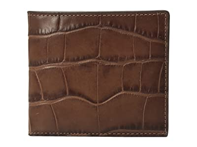 COACH Double Billfold Wallet (Saddle) Bags