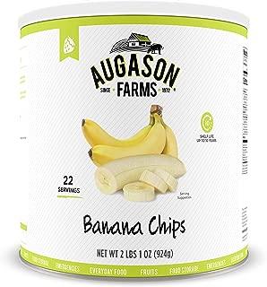Augason Farms Banana Chips 2 lbs 1 oz No. 10 Can