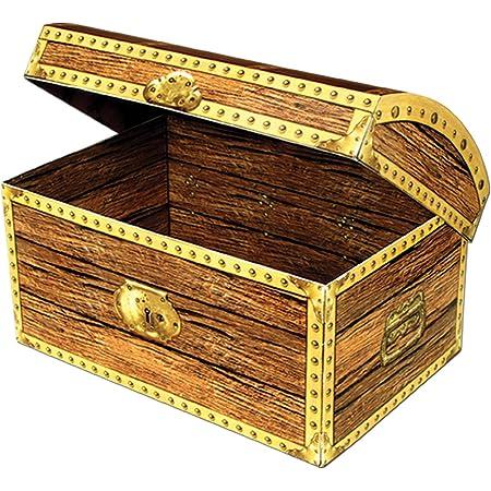 Amazon Com Treasure Chest Box Party Accessory 1 Count 1 Pkg Decorative Boxes Kitchen Dining