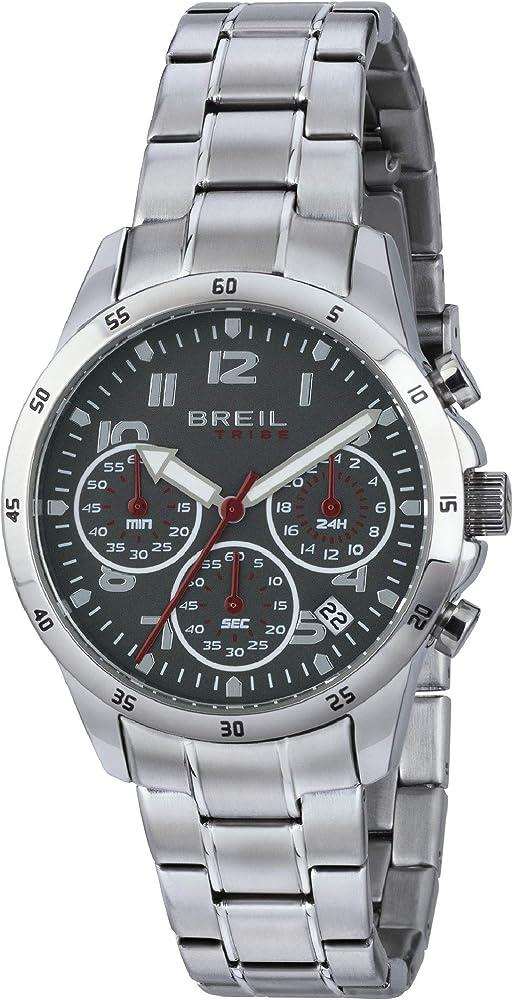 Breil orologio,cronografo per uomo,in acciaio inossidabile EW0379