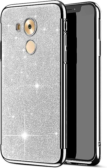 JCKHM Custodia Compatibile con Custodia Huawei Mate 8 TPU Cover,Glitter Glitter Placcatura Morbida TPU Silicone Morbida Galvanostegia Cover in ...