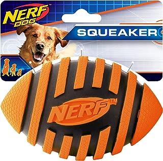 Nerf Dog Spiral Squeak Football
