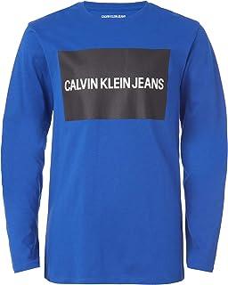 Calvin Klein boys Calvin Klein Boys' Long Sleeve Tee T-Shirt