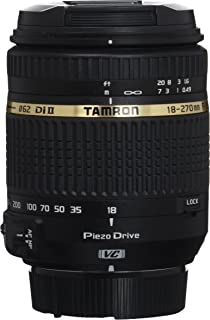 Tamron 18-270mm f/3.5-6.3 Di II VC PZD Zoom Lens for Nikon DSLR Cameras (Model B008N) - International Version (No Warranty)