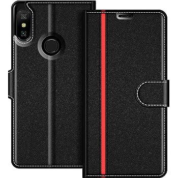 COODIO Funda Xiaomi Mi A2 Lite con Tapa, Funda Movil Xiaomi Mi A2 ...