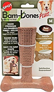 """SPOT Bambone Plus Chew Toy for Dogs Beef 6"""""""