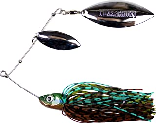 Lunkerhunt Impact Ignite - Double Willow Leaf Spinnerbait